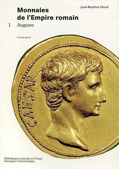 Premier tome du Catalogue des monnaies de l'Empire romain