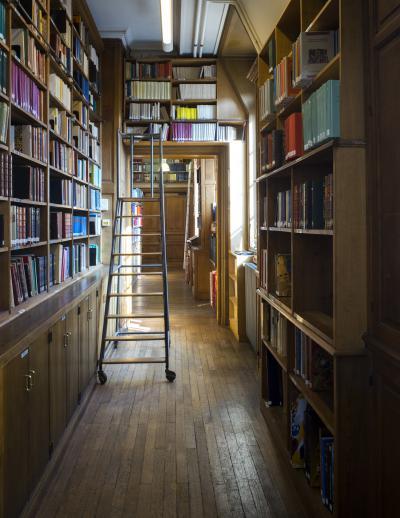 Entrée de la salle de lecture de la bibliothèque
