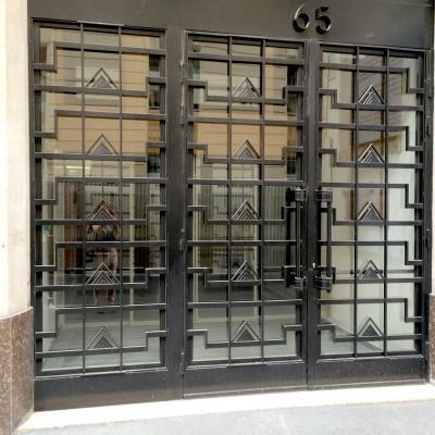 Ferronneries de la façade du  65, rue de Richelieu