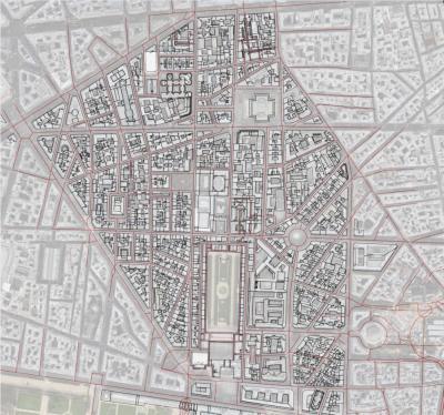 Plan numérique du quartier Richelieu