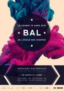 Affiche du bal 2015